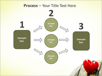 Red Heart PowerPoint Template - Slide 72