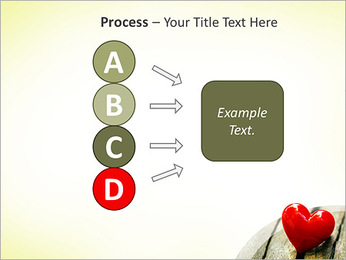 Red Heart PowerPoint Template - Slide 74