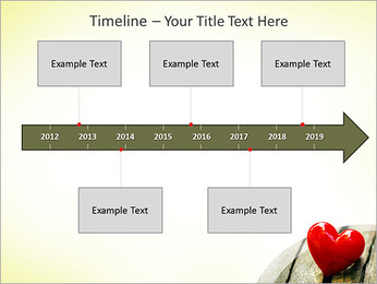Red Heart PowerPoint Template - Slide 8