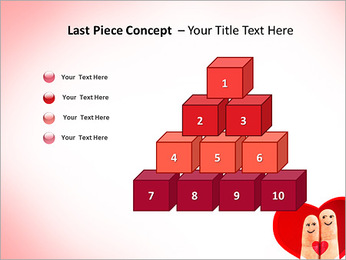 Finger Couple PowerPoint Template - Slide 11