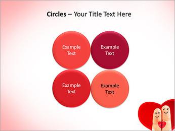 Finger Couple PowerPoint Template - Slide 18