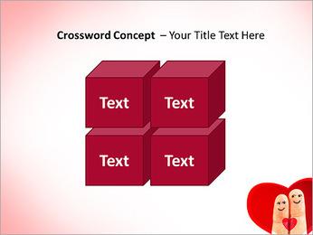 Finger Couple PowerPoint Template - Slide 19