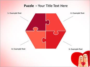Finger Couple PowerPoint Template - Slide 20