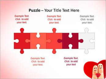 Finger Couple PowerPoint Template - Slide 21
