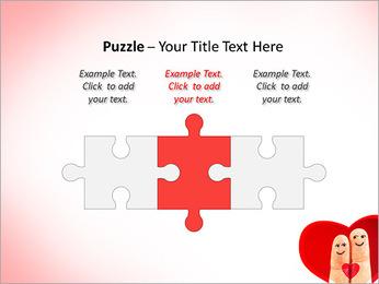Finger Couple PowerPoint Template - Slide 22