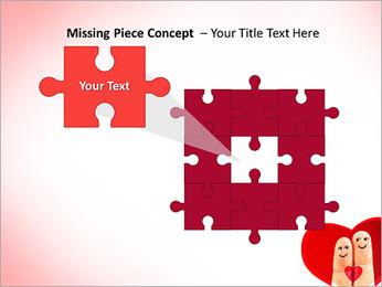 Finger Couple PowerPoint Template - Slide 25