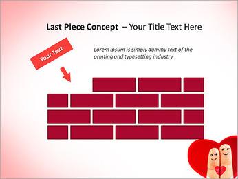 Finger Couple PowerPoint Template - Slide 26