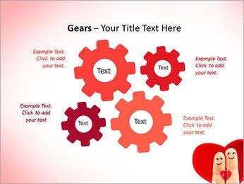 Finger Couple PowerPoint Template - Slide 27