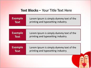 Finger Couple PowerPoint Template - Slide 38