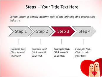 Finger Couple PowerPoint Template - Slide 4