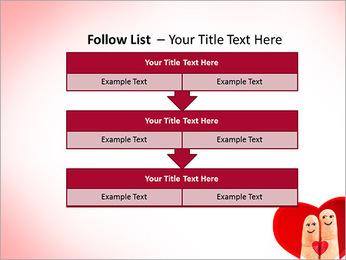 Finger Couple PowerPoint Template - Slide 40
