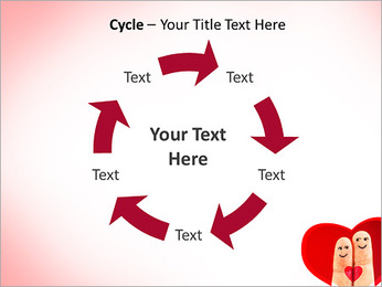 Finger Couple PowerPoint Template - Slide 42