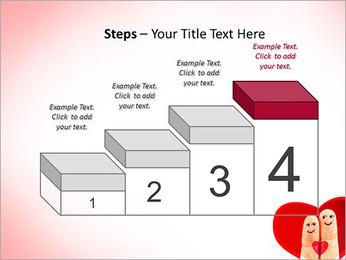 Finger Couple PowerPoint Template - Slide 44