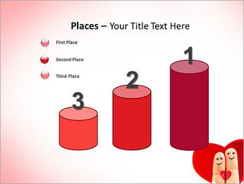 Finger Couple PowerPoint Template - Slide 45