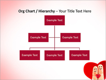 Finger Couple PowerPoint Template - Slide 46