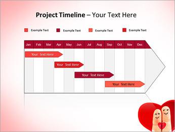 Finger Couple PowerPoint Template - Slide 5