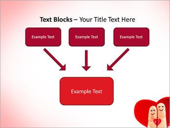 Finger Couple PowerPoint Template - Slide 50