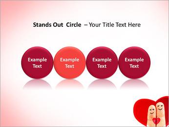 Finger Couple PowerPoint Template - Slide 56
