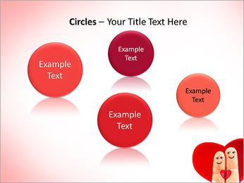 Finger Couple PowerPoint Template - Slide 57