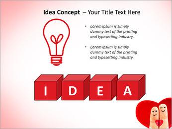 Finger Couple PowerPoint Template - Slide 60