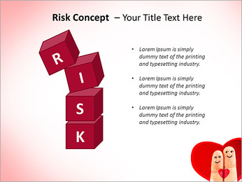 Finger Couple PowerPoint Template - Slide 61