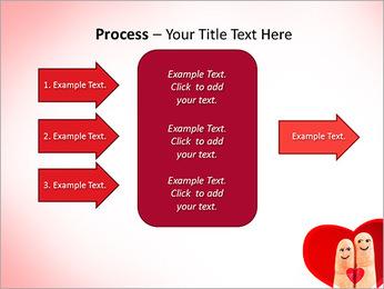 Finger Couple PowerPoint Template - Slide 65