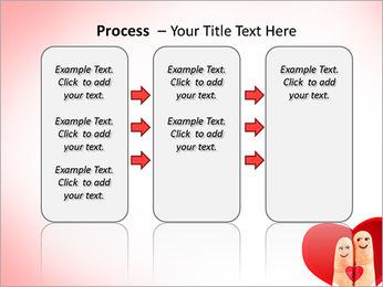 Finger Couple PowerPoint Template - Slide 66