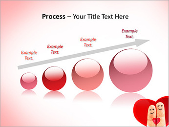 Finger Couple PowerPoint Template - Slide 67
