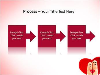 Finger Couple PowerPoint Template - Slide 68