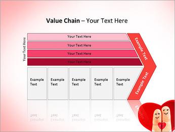 Finger Couple PowerPoint Template - Slide 7