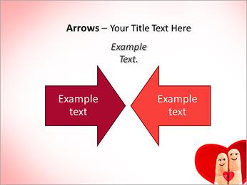 Finger Couple PowerPoint Template - Slide 70