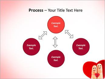 Finger Couple PowerPoint Template - Slide 71