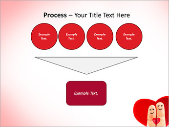 Finger Couple PowerPoint Template - Slide 73