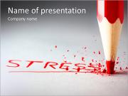 Stress PowerPoint presentationsmallar