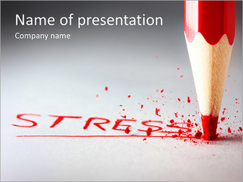 Stress PowerPoint Template - Slide 1