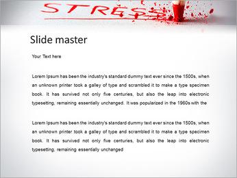 Stress PowerPoint Template - Slide 2