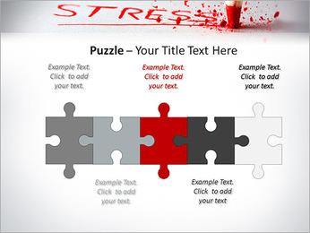 Stress PowerPoint Template - Slide 21