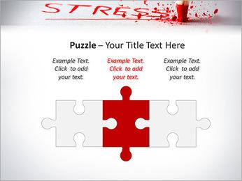 Stress PowerPoint Template - Slide 22