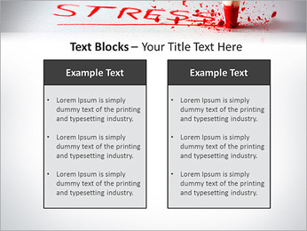 Stress PowerPoint Template - Slide 37