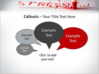 Stress PowerPoint Template - Slide 53
