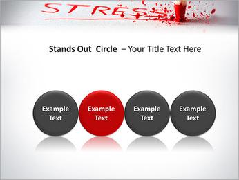 Stress PowerPoint Template - Slide 56