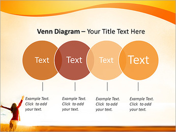 Woman Enjoy Nature PowerPoint Template - Slide 12