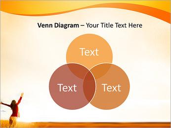 Woman Enjoy Nature PowerPoint Template - Slide 13