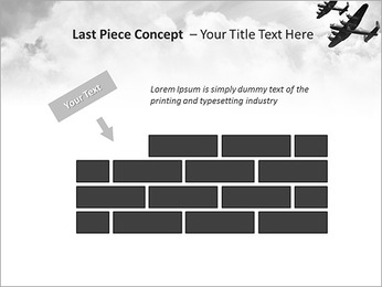 Plane Parade PowerPoint Template - Slide 26