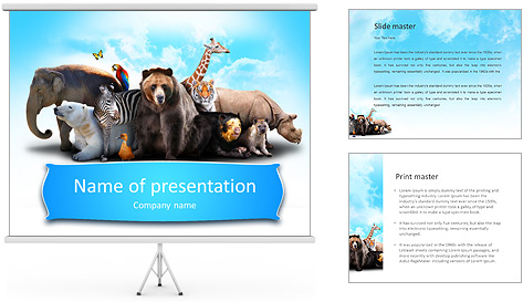Zoo PowerPoint Template