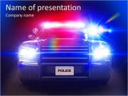 Police Car PowerPoint Templates