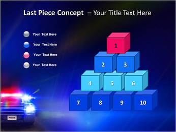 Police Car PowerPoint Template - Slide 11