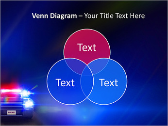 Police Car PowerPoint Template - Slide 13