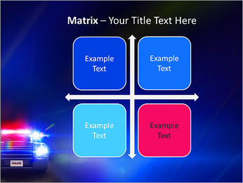 Police Car PowerPoint Template - Slide 17