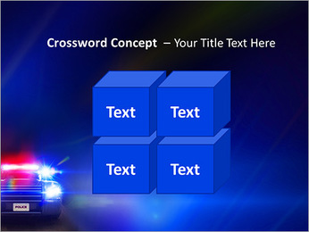 Police Car PowerPoint Template - Slide 19